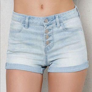 Pacsun high waist shorts